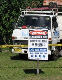 Licensed Asbestos Removal