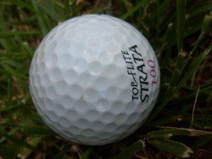 asbestos dimples golf ball dimples